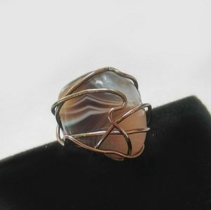 Jewelry - Botswana Agate Ring